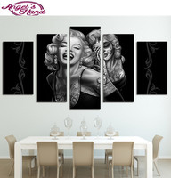 new 5d DIY Diamond Painting Singer Marilyn Monroe round/square Cross Stitch 3d Diamonds Embroidery Painting Rhinestones gifts