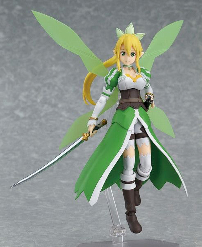 Anime Sword Art Online II S.A.O Leafa ALO ver. Boxed 14cm PVC Action Figure Collection Model Doll Toy Figma anime sword art online figma 314 leafa kirigaya suguha pvc action figure collection model kids toys doll 14cm swaf004