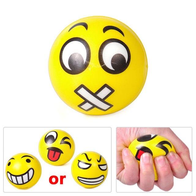 2017 Smash It Baby Toys 12x Emoji Boys Girl Fun Emoji Face Squeeze