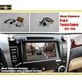 Автомобильная Камера Заднего вида/Резервное Копирование Камера Заднего Вида Комплектов для Toyota Camry XV50 2012 ~ 2016/RCA & Оригинальный Экран совместимость