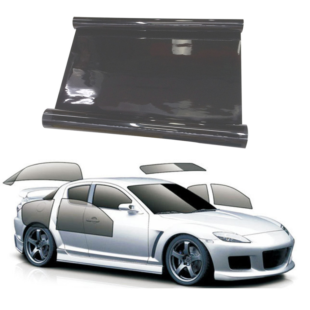 American anti scratch   Window Tinting Tint Film Car Van 35 /% Ligh Black 50// 300