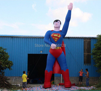 8M Inflatable Superman