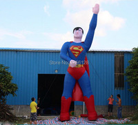 8 m ( 26 ft ) H Giant Beautiful Inflatable Super man for Decoration/Advertising/Promotion