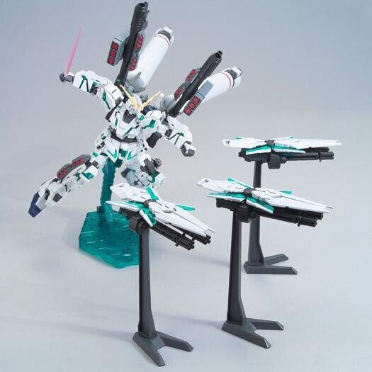 ФОТО DABAN Japanese anime figures Gundam HGUC 1/144 RX-0 Full Armor Unicorn Destroy Mode robot action figure plastic model kits toys