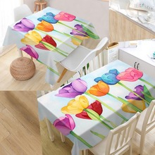Buy Tulip Table Cloth And Get Free Shipping On AliExpresscom - Custom tulip table