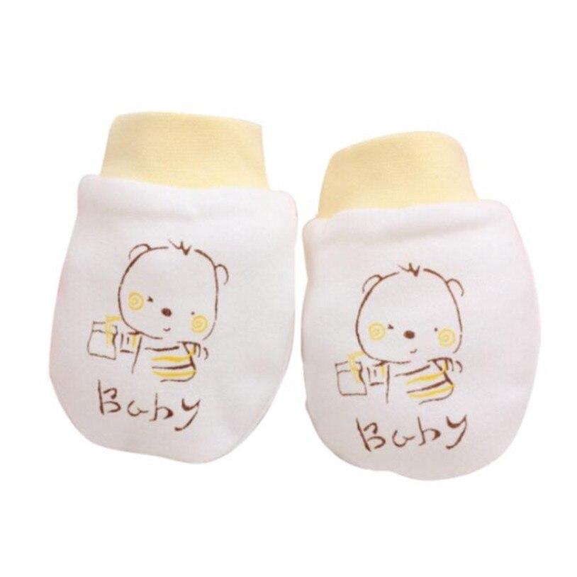 TELOTUNY Plüsch und samt warme handschuhe für herbst und winter baby neugeborenen handschuhe winter handschuhe Baumwolle 1 Pairs Nette Z0828