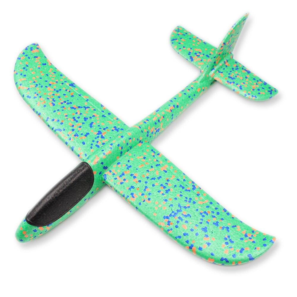 48CM mousse avion planeur main jeter avion planeur jouet avions EPP lancement en plein air enfants jouets pour enfants garçons cadeau 3