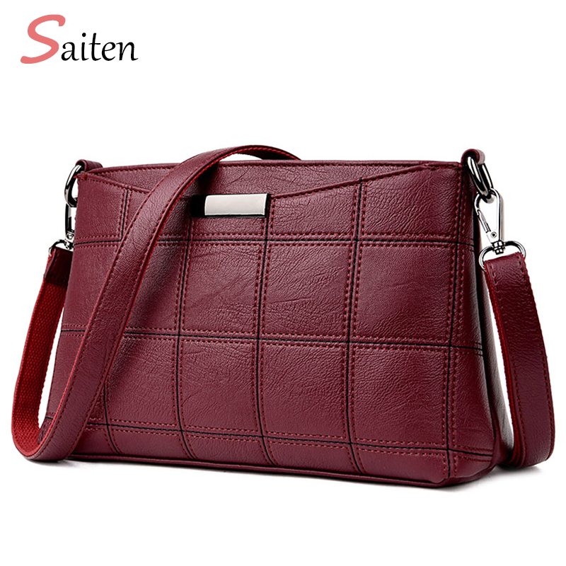2018 Autumnal New Women Handbag Leather PU Shoulder Bags Sac a Main Tote  Bag Ladies High Quality Handbags 9a0aed4ddb99