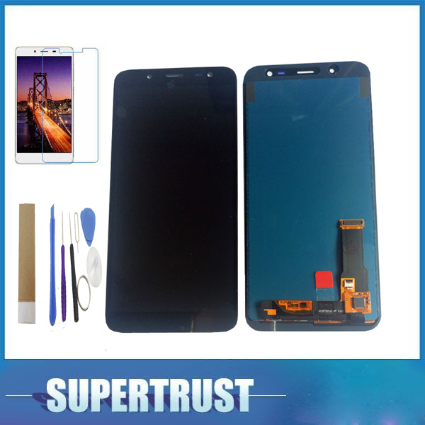 Can Adjust Brightness For Samsung Galaxy J6 2018 SM-J600F J600F LCD Display Touch Screen Assembly With Kit Black ColorCan Adjust Brightness For Samsung Galaxy J6 2018 SM-J600F J600F LCD Display Touch Screen Assembly With Kit Black Color
