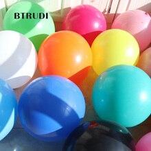 BTRUDI 5pcs 18inch 1g round balloon helix hemp gold red mixed with thick DIY birthday bar KTV decorative layout