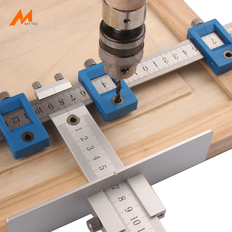 Aluminium Cabinet Hardware Jig For Handles And Knobs On Doors And Drawer  Fronts, Woodworking Accurate Knob ...