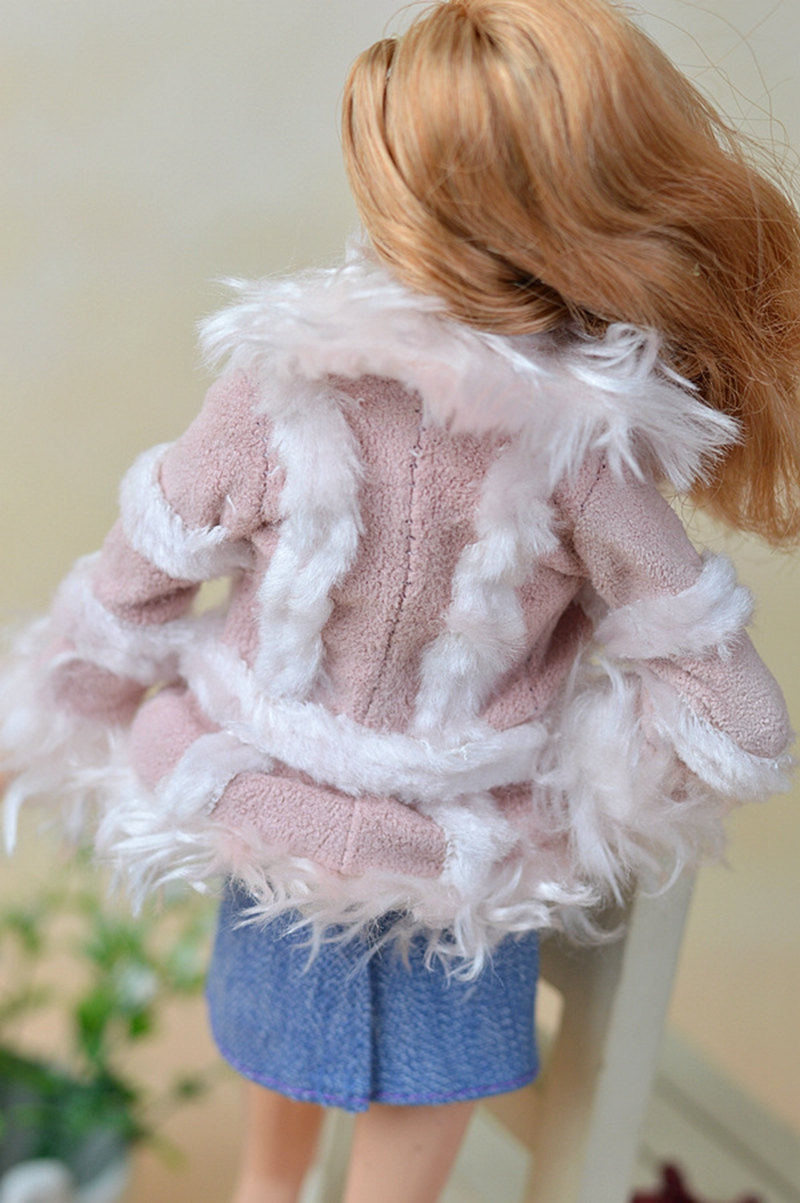 doll accessories set winter autume warm coat fashion clothes for