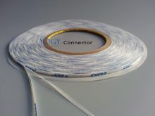 2mm~5mm~10mm~20mm choose, *50M Long, White Double Sided Adhesive Coated Glue Tape for iphone, Huawei, Samsung LCD Screen Panel(China)
