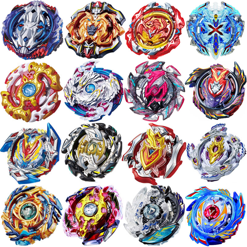 цена Beyblade Burst Bayblade Toy Metal Fusion 4D No Launcher No Box Spinning Top Bey Blade Blades Toys For Children Christmas Gift #A