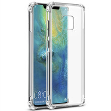 For Huawei P9 P20 Pro P20 Lite Mate 9 10 20 Lite Case Clear TPU For Huawei Honor 10 9 Play 8X MAX Nova 4 3 2s 3e Back Cover(China)