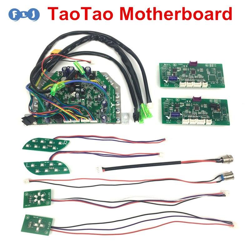 TaoTao Hoverboard PCB Motherboard Control Board Senson LED Vice Board Repair For 6.5/8/10inch Electric Self Balancing Scooter
