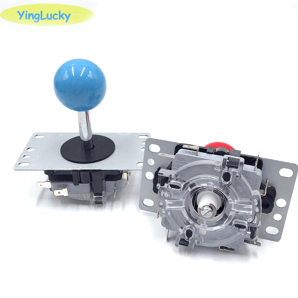 1pcs New Arrival Arcade Joystick DIY Joystick Red Ball 4/8 Way Joystick Fighting Stick Parts For Game Arcade Hot Promotion