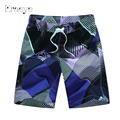ERAEYE Summer High Quality Masculina Shorts Mens Board Five Points Shorts Big And Tall Short Pants Beach Wear Quick Dry Silver