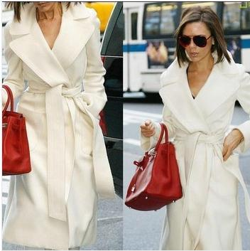 Popular Womens Winter White Wool Coats-Buy Cheap Womens Winter ...