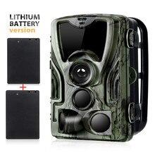 2 шт. 5000 мАч Зарядное устройство литиевая батарея Trail охотничья камера 16MP HC801ALI 1080P IP65 фото ловушки 0,3 s наблюдения