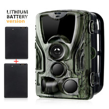 2PCS 5000Mah Recharger Lithium Battery Trail Hunting Camera 16MP HC801ALI 1080P IP65 Photo Traps 0.3s  Surveillance