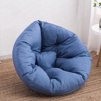 Personnalité Confortable Paresseux Canapé Unique Haricot Sac Inclinable Petit Canapé Appartement Chambre Salon Mignon Tatami Haricot Sac