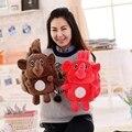 Слон Плюшевые Игрушки Симпатичные Мягкие Мультфильм рюкзак Кукла Животных Слон для детских Подарков