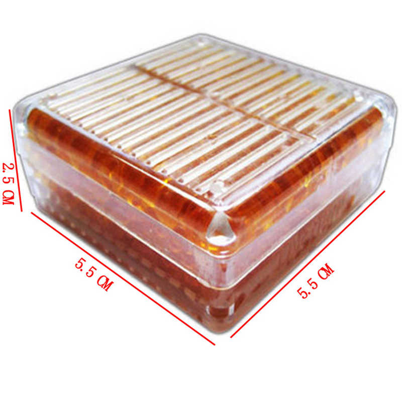 1pcs Reusable Silica Gel Box White Orange Blue Silicagel Moisture Absorber Absorbent Desiccant box Changing Dehumidification