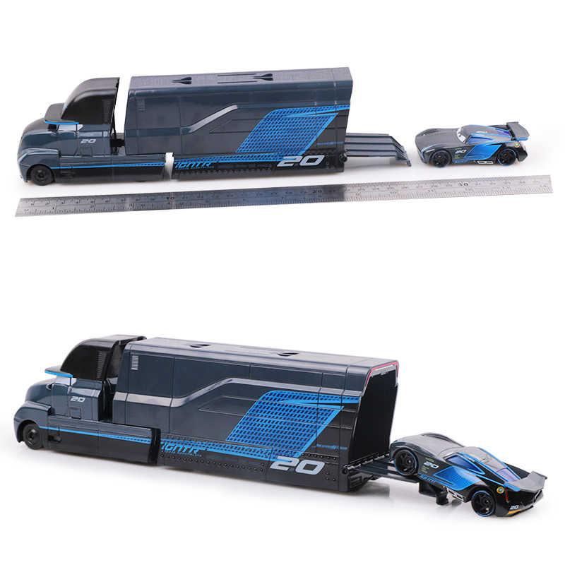 Автомобили disney Pixar Cars 2 3 игрушки Молния Маккуин Джексон шторм Круз Мак дядя грузовик 1:55 литой модельный автомобиль игрушки для детей