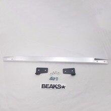 Алюминиевая Задняя рама Нижняя стяжка Подходит для Honda Civic EG 92-95 с наклейкой BEAKS