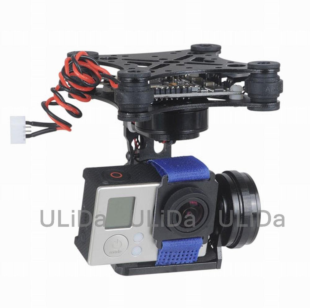 new 3 Axis Brushless Gimbal Camera Mount & 32bit Storm32 Controller Gopro 3 4 FPV fpv 3 axis cnc metal brushless gimbal with controller for dji phantom camera drone for gopro 3 4 action sport camera only 180g