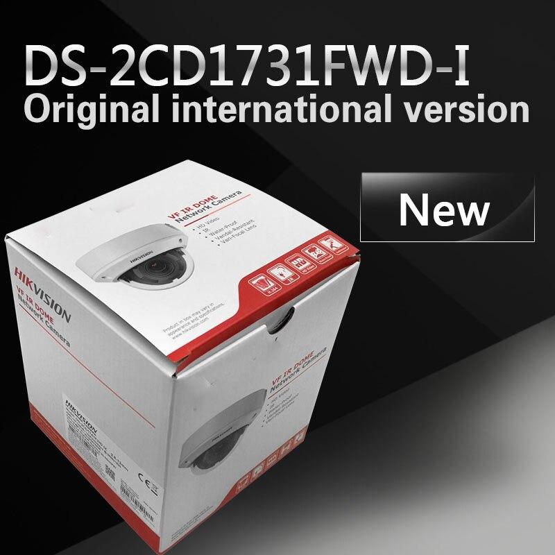 bilder für Auf lager Neue DS-2CD1731FWD-I ersetzen DS-2CD2735F-IS Variabler brenn 3MP dome Netzwerk IP Kamera