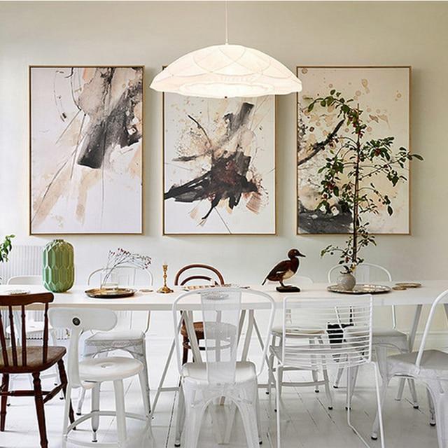 abstract multi kleuren canvas schilderijen vintage posters prints nordic wall art foto voor kantoor woonkamer interieur