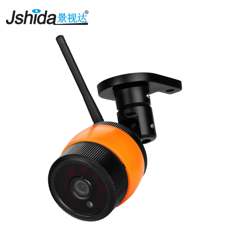 Outdoor Waterproof IP 720P Camera Wifi Wireless Security Surveillance Camera Support Built-in 64G Memory Card CCTV Camera Night ssicon 1 0mp 1 3mp wireless surveillance cctv camera ip 3 array leds waterproof wifi camera bullet outdoor support 64g sd card