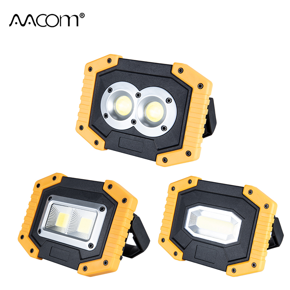 30 watt COB LED Flutlicht 3 Modi 5 v USB Aufladbare Reflektor Scheinwerfer Tragbare LED Arbeits Lichter Handheld Scheinwerfer