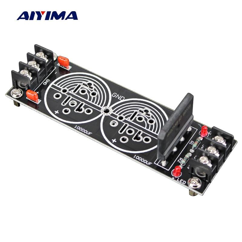 Aiyima 30a Großen High Power Verstärker Doppel Netzteil Rectifier Filter Bord Hifi Diy Verstärker Bord Die Nieren NäHren Und Rheuma Lindern Unterhaltungselektronik