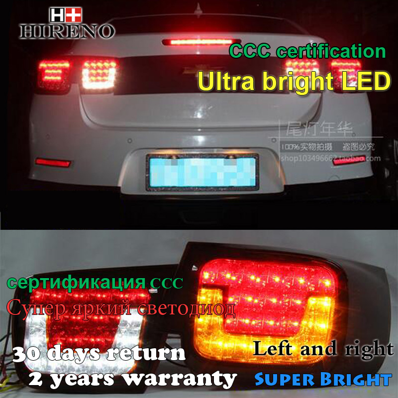 Hireno Tail Lamp For Chevrolet Malibu 2012 2013 2014 LED