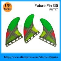 עתיד/G5 Fcs חלת דבש צבעוני סיב SUP לוח לגלוש סנפיר סנפיר סנפיר עתיד Quilhas מים ספורט גלישה