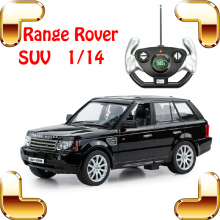 New Year Gift 1/14 Range Rover RC Remote Control Racing Car Simulation Model SUV Speed Drift Toy Diecast Collection Showcase