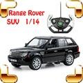 Presente de Ano novo 1/14 Range Rover RC Simulação Modelo de Carro de Corrida de Controle Remoto SUV Velocidade Deriva Toy Diecast Coleção Vitrine