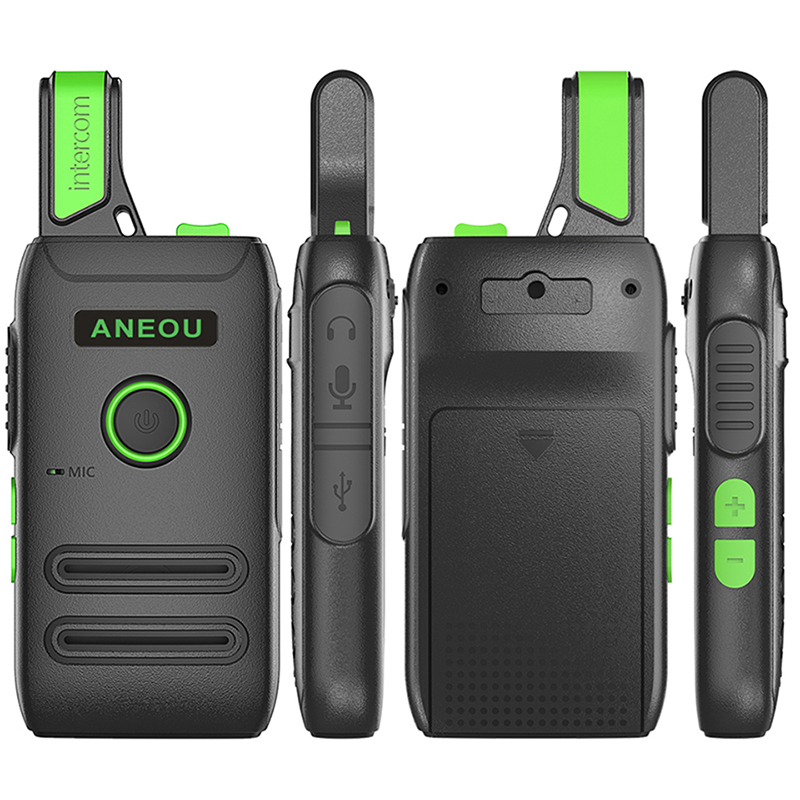 ANEOU C1 Mini Walkie Talkie 5w Uhf Two Way Radio Hf Transceiver Portable Radio Comunicador Ham Radio Amador Kids Radio Woki Toki