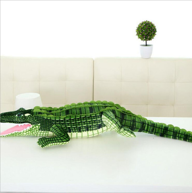 100cm (39.37inch) New Arrival Big Size Simulation Crocodile Plush Toys Stuffed Animals Doll Kids Toy Cushion Pillow Toys Gifts
