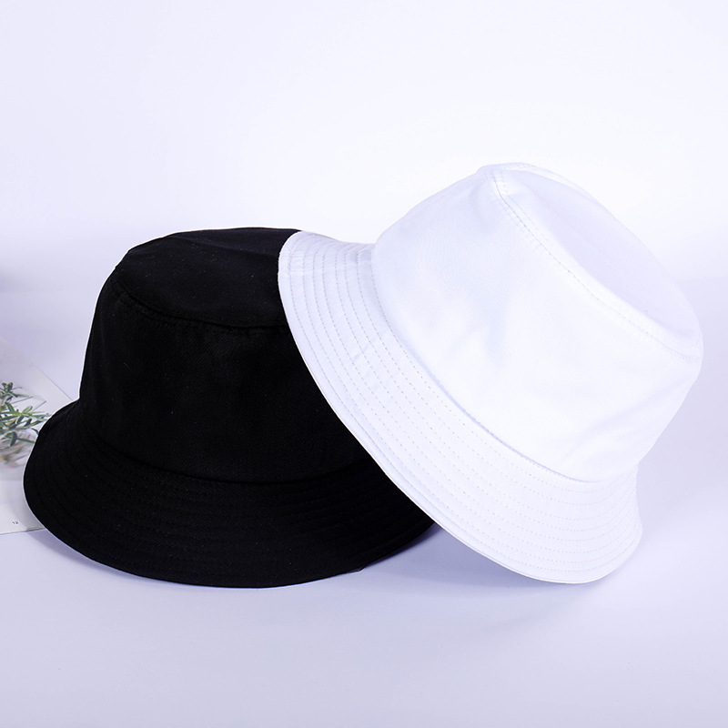 Summer New Korean Light Plate Solid Color Fashion Fisherman Hat Men And Women Personality Outdoor Leisure Bucket Sun Hat Beanies
