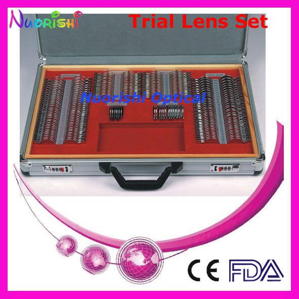 232AL-JS Top quality CE teste Lens Set caso brilhante de Metal aro de alumínio caso embalado mais baixos custos de envio