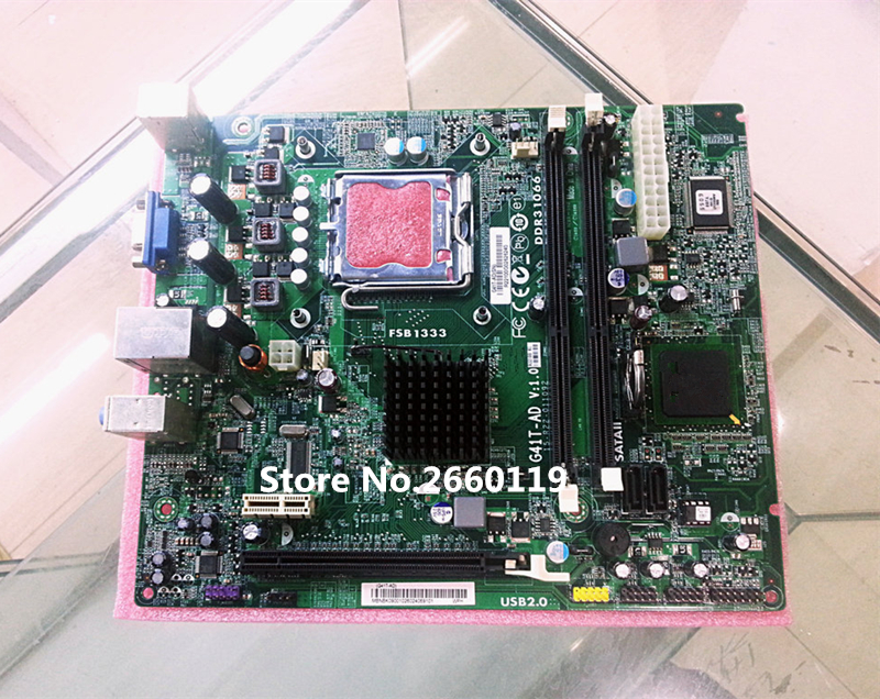 Desktop mainboard for G41T-AD motherboard Fully tested