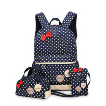 2019 New Children School Bags Kids School Backpack Set Child