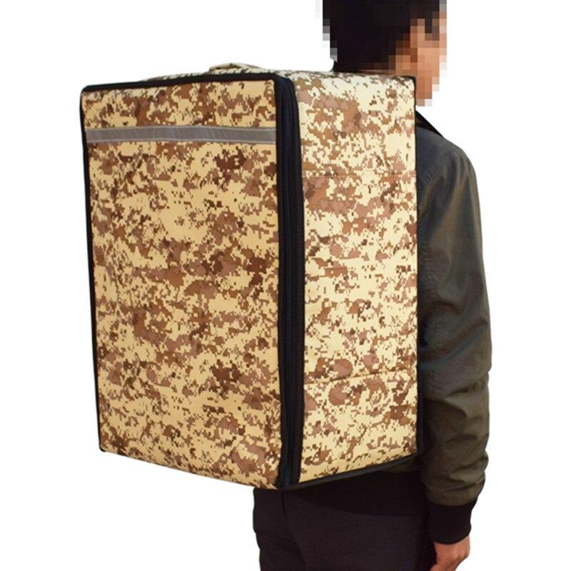 Camouflage sac 52L femmes hommes déjeuner valise multifonction alimentaire pique-nique glacière boîte isolé fourre-tout sacs de stockage conteneur sac à dos