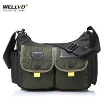 Men Military Messenger Bag Waterproof Nylon Satchel Shoulder