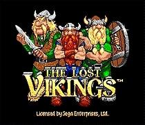 The Lost Vikings 16 bit MD Game Card For Sega Mega Drive For SEGA Genesis