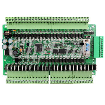 PLC промышленная плата управления FX1N FX2N FX3U-48MT/40MT 6AD 2DA 24 входа 24 транзистора выход RTC с RS485 и может расширяться